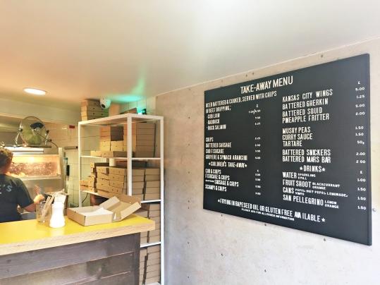 Eric's Fish & Chips, Thornham